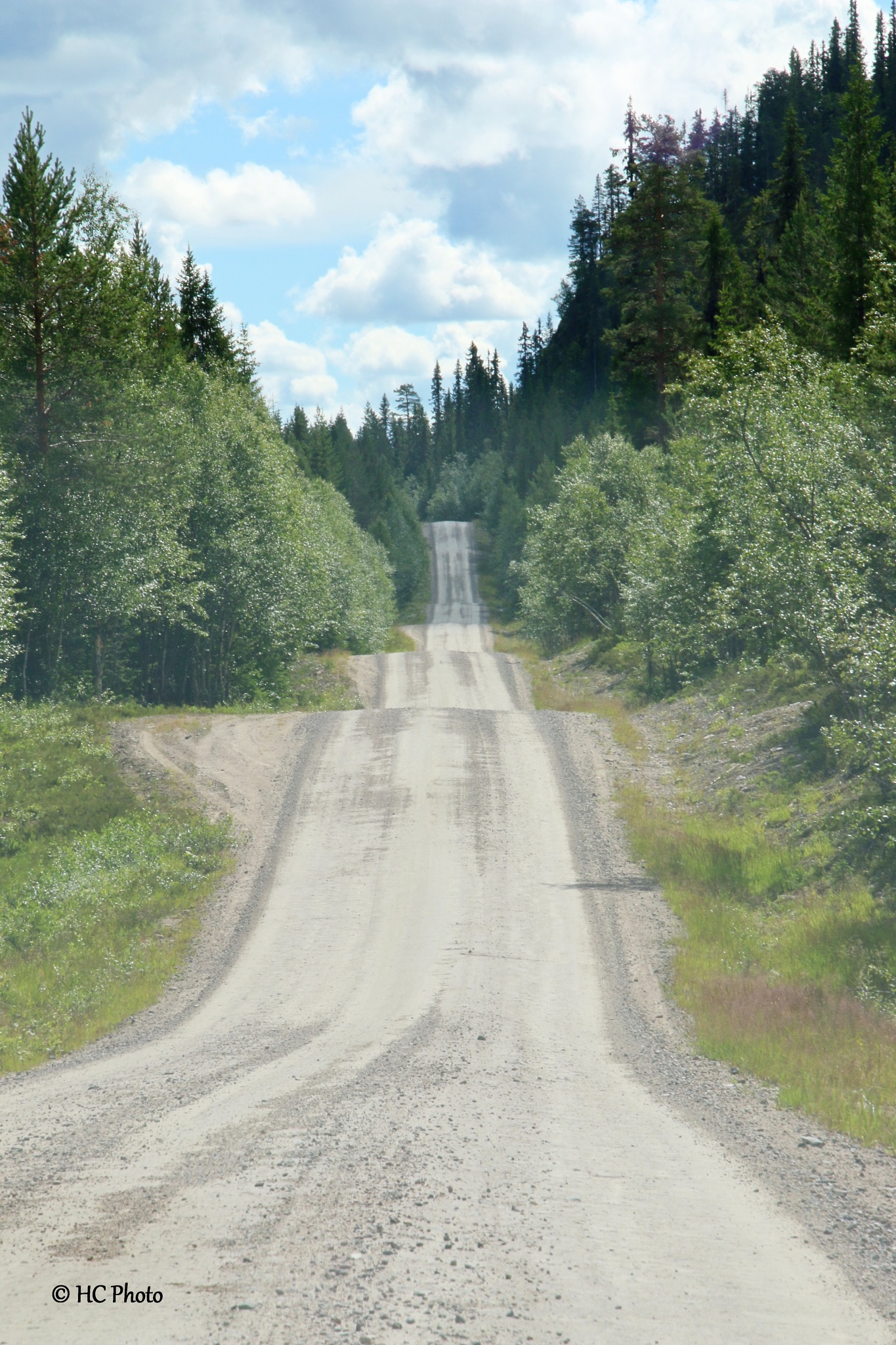 Off road in Sweden by Henk van der Craats