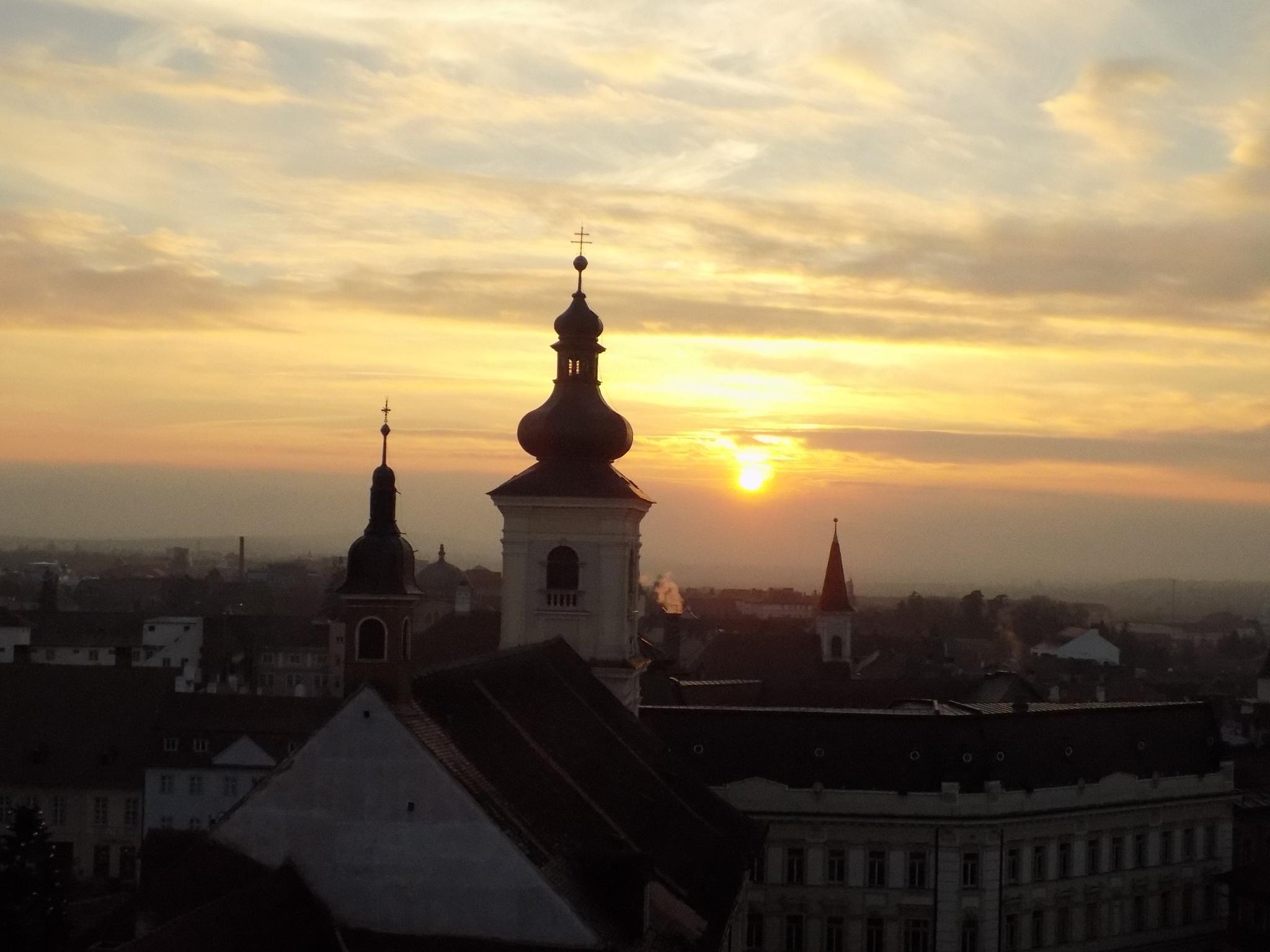 Sleeping Sibiu by MariusAndreas18