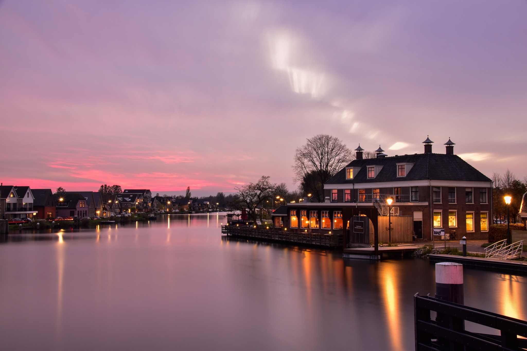 Evening colours by San Zijlstra