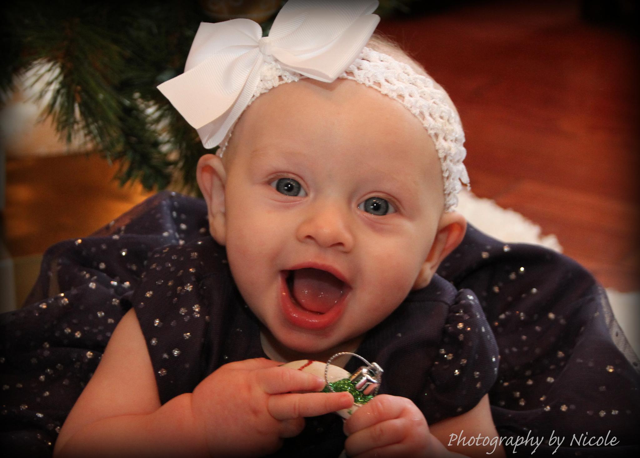 Happy Little Girl by PhotographybyNicole
