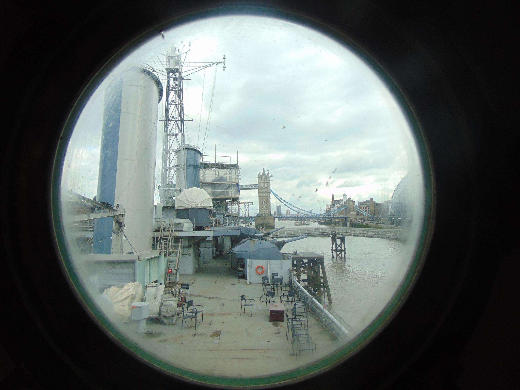 Looking through a porthole by brian.f.kirkham