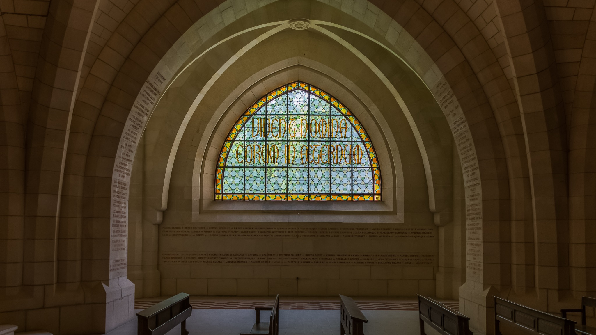 church window by Marco Jansen