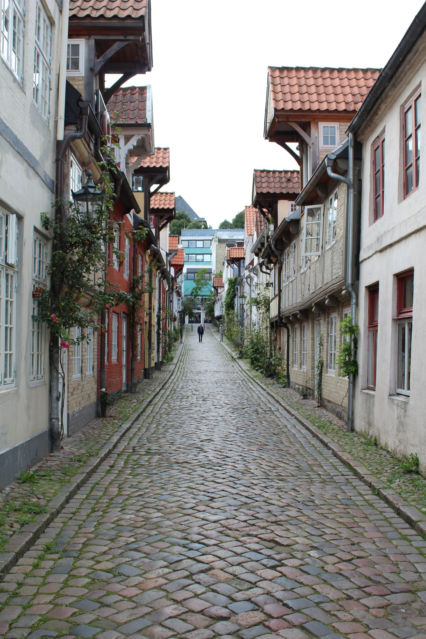 Old small streets in Flensburg.Germany. by grethe.f.villadsen