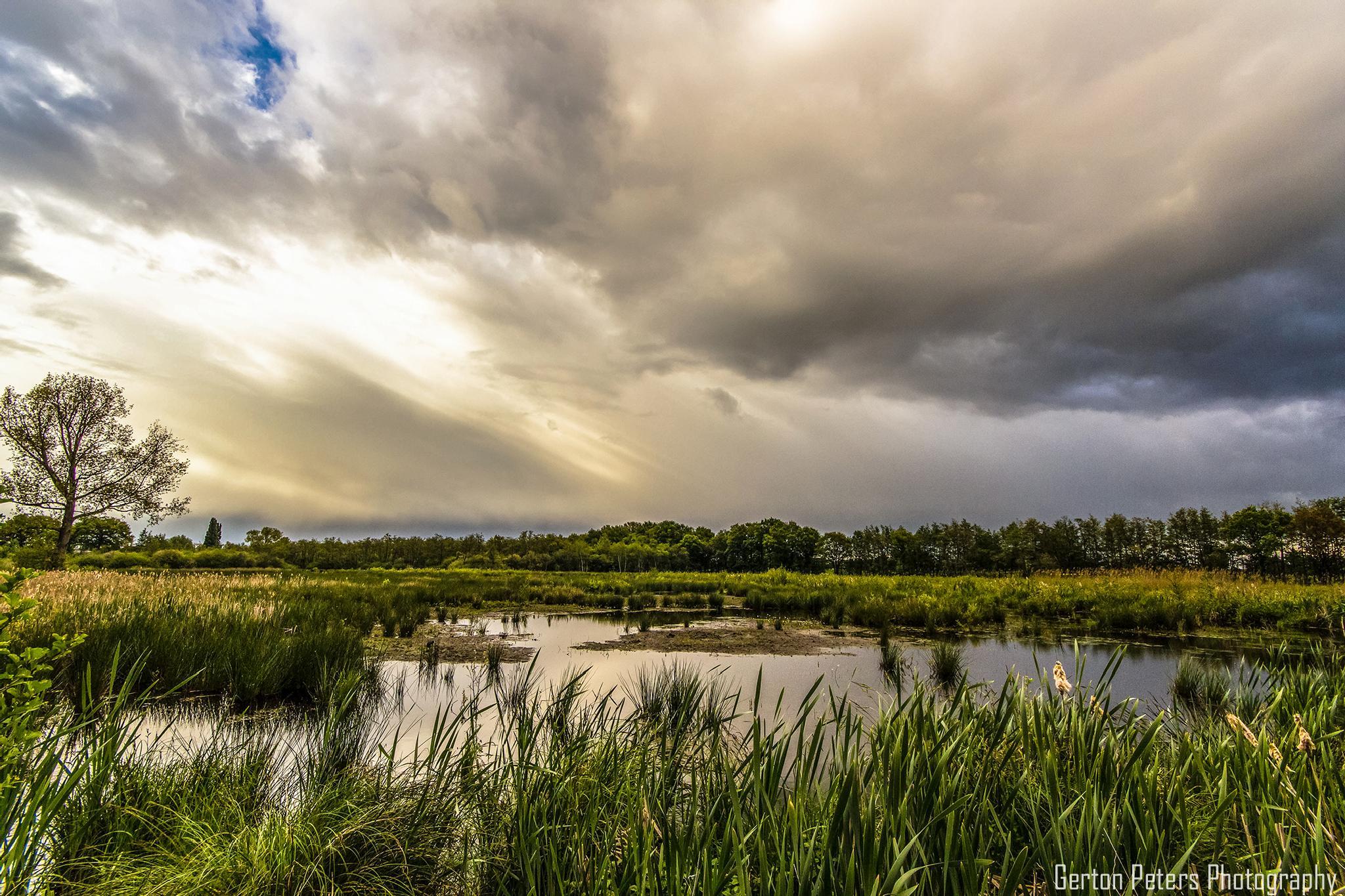 Rainy Sky by Gerton Peters