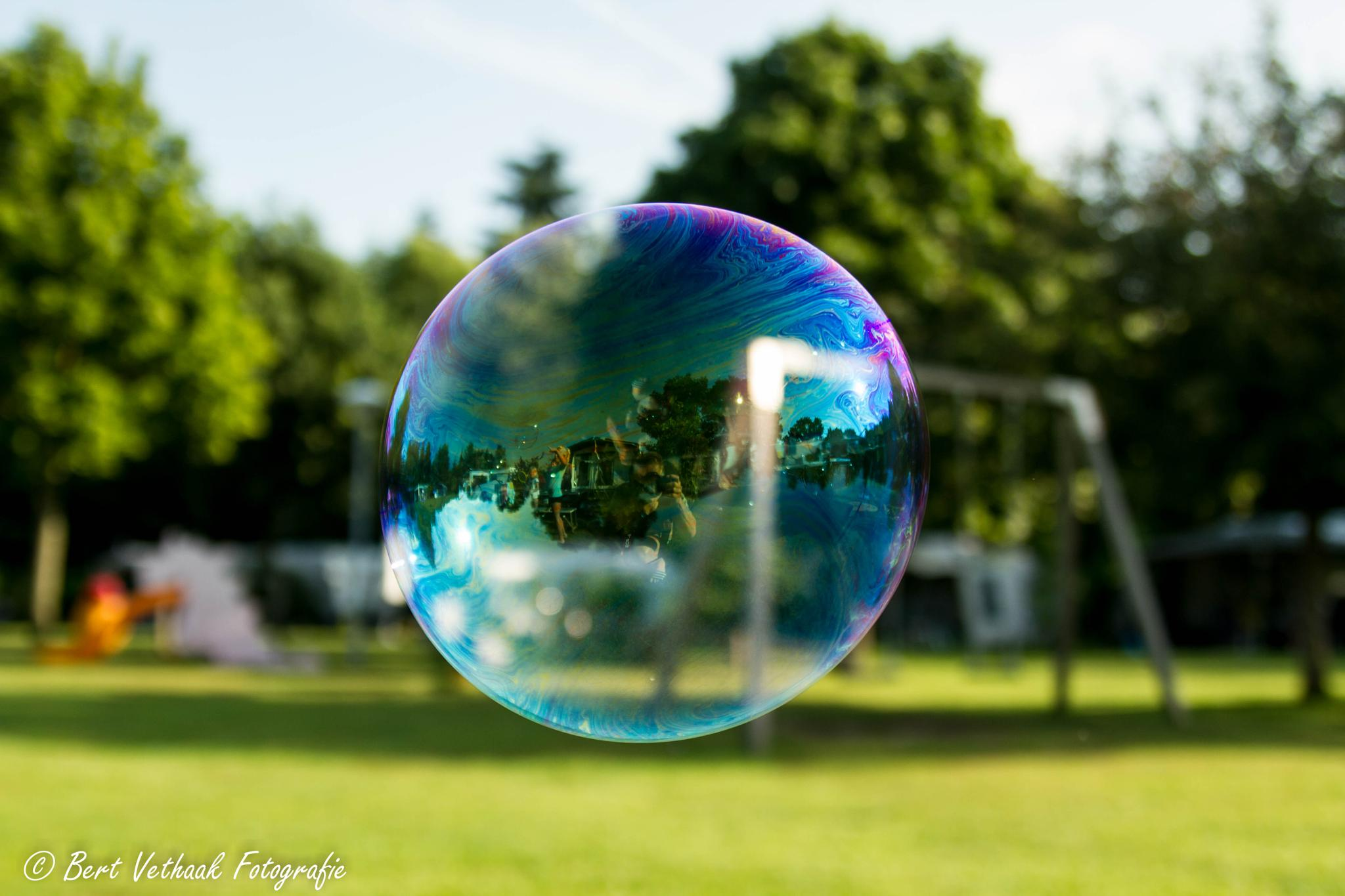 In a bubble by Bert Vethaak