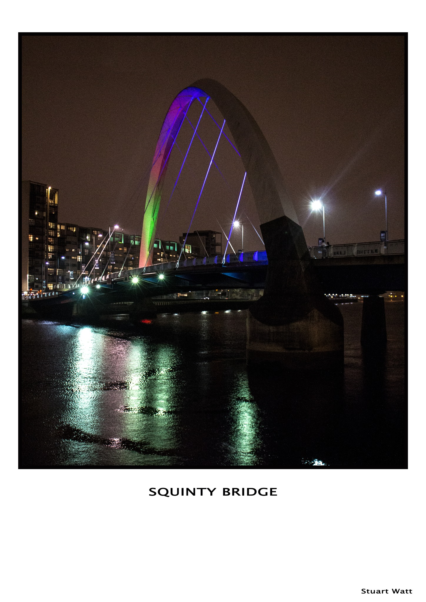 Squinty Bridge by Stuart Watt