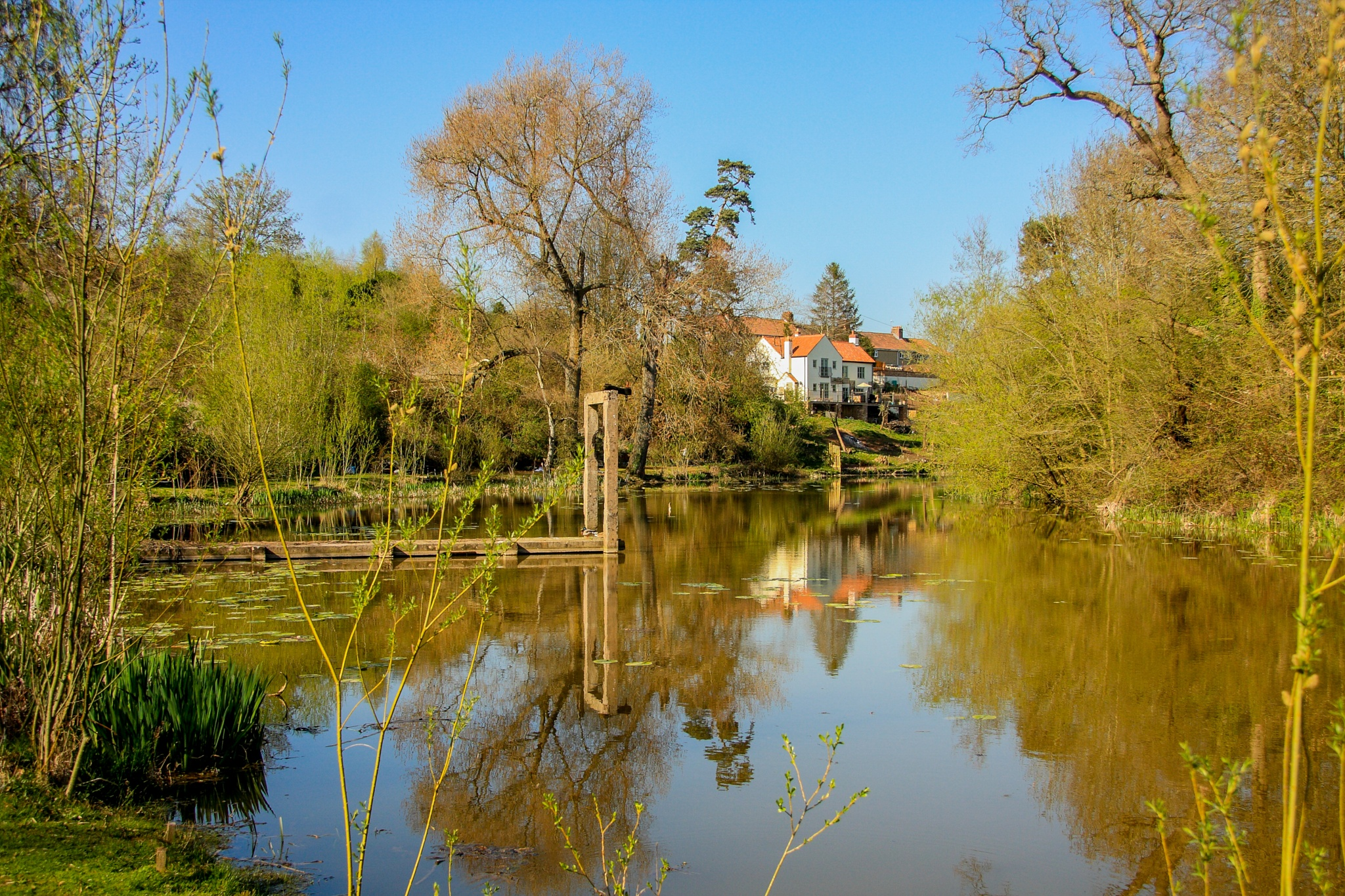 Ham Green Lake by Russ Summers
