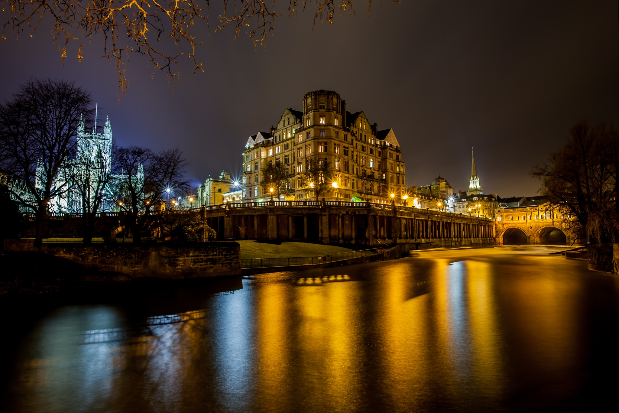 Bath By Night by Russ Summers