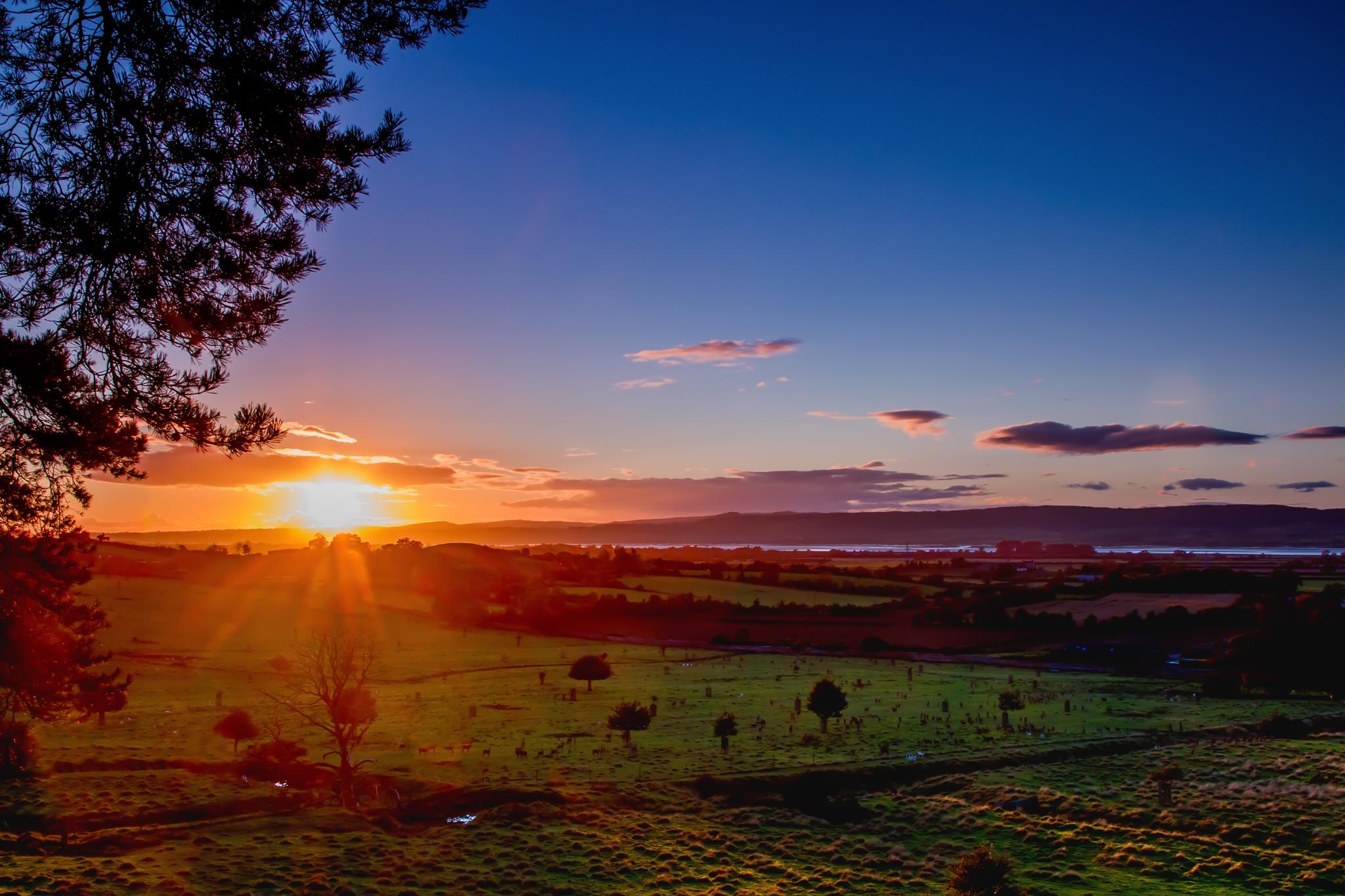 Deer Park Sunset by Russ Summers