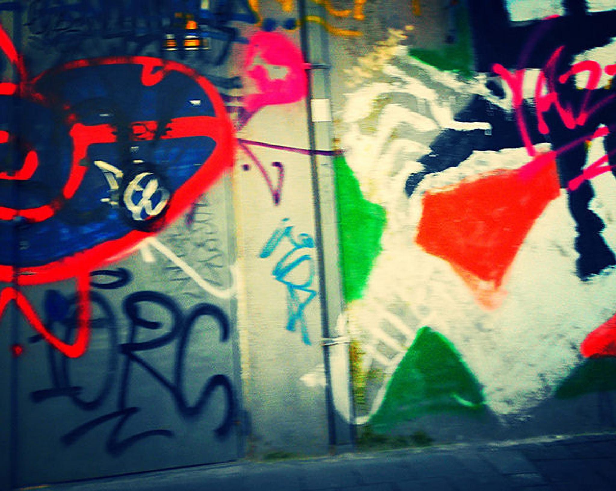 grafiti mash by ann van aken