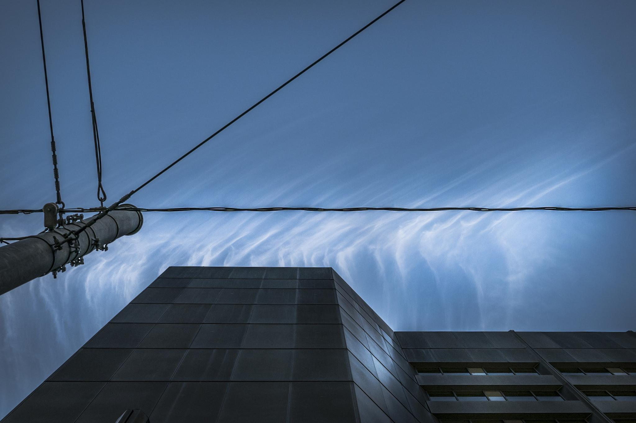 Photo in Architecture #clouds #color #sky #minimal composition #architecture