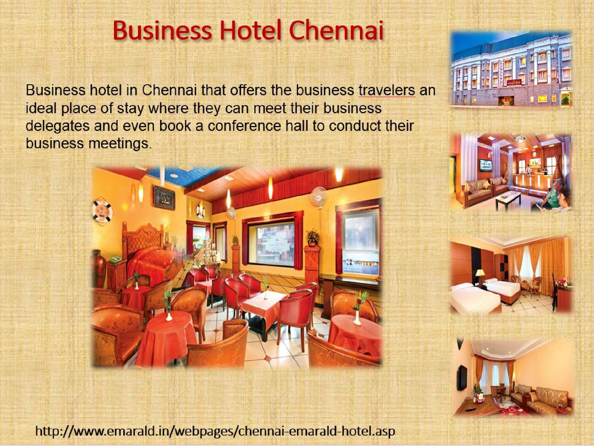 Business Hotels Chennai by robertbruse639