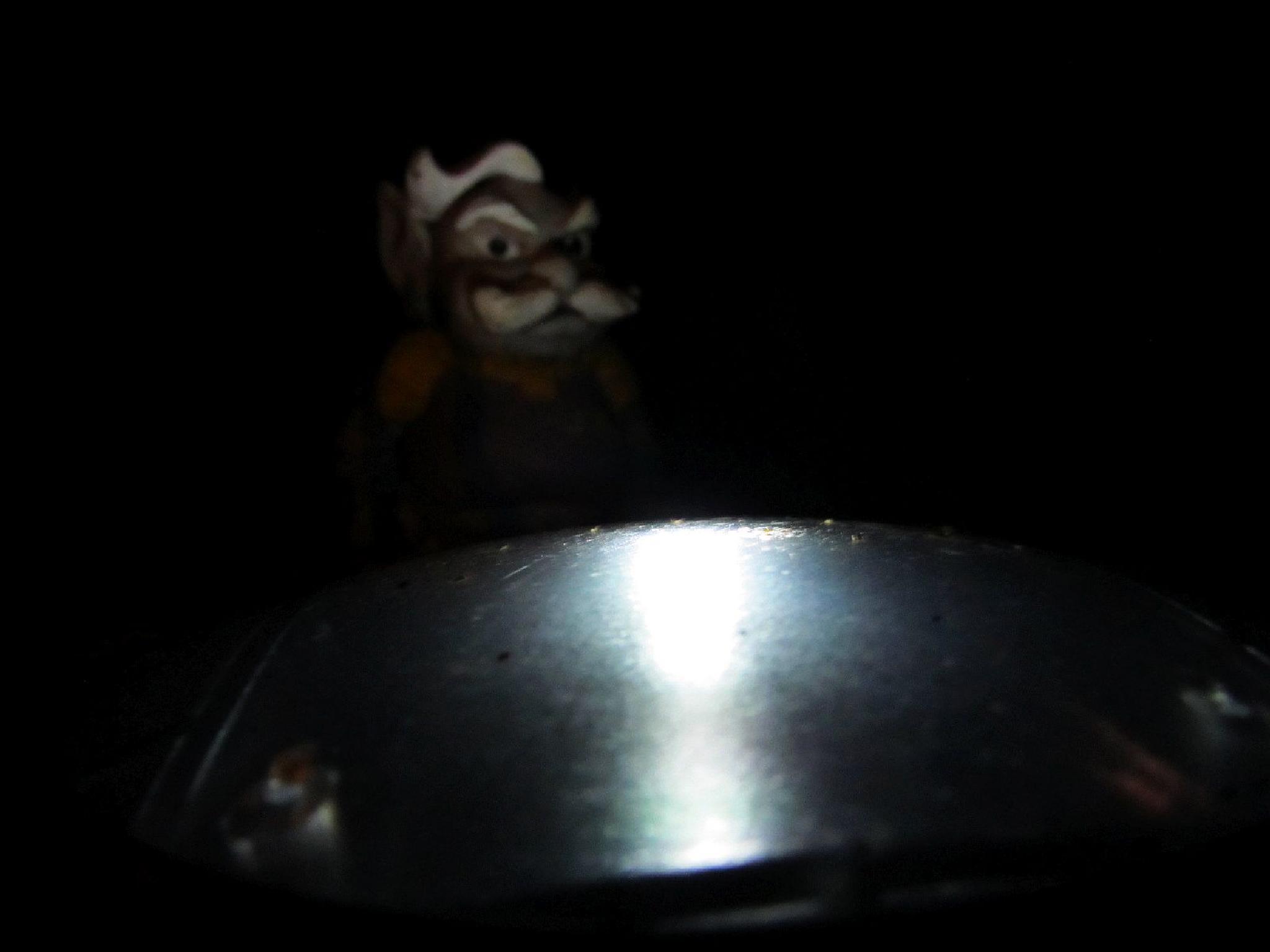 Night watchman still on duty by Ruth Moore