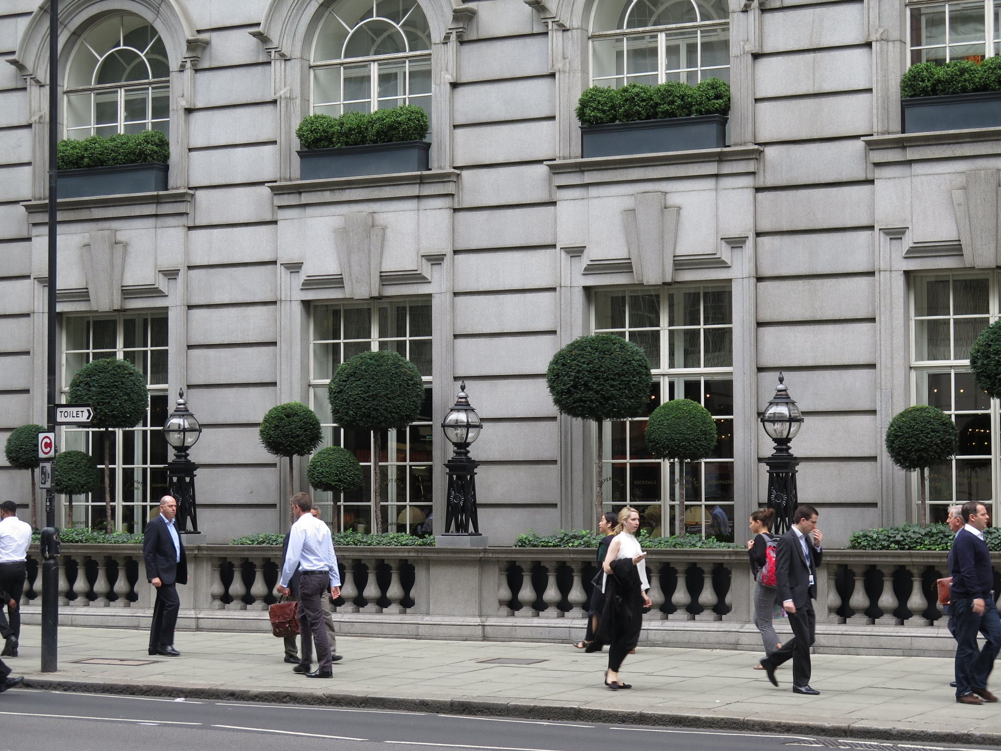 Green Thoughts in London's Holborn by Tim Bourne