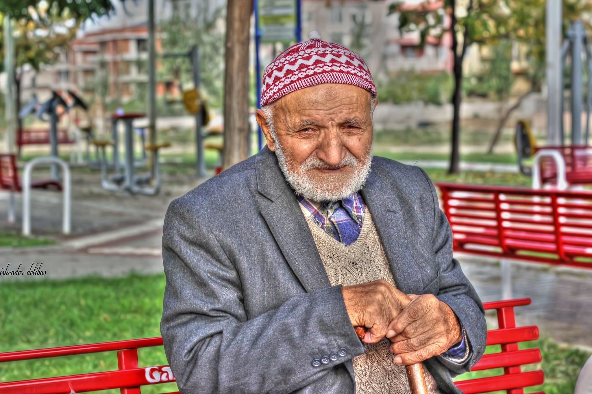 Photo in Portrait #old #man #portrait #izmir #follow #canon