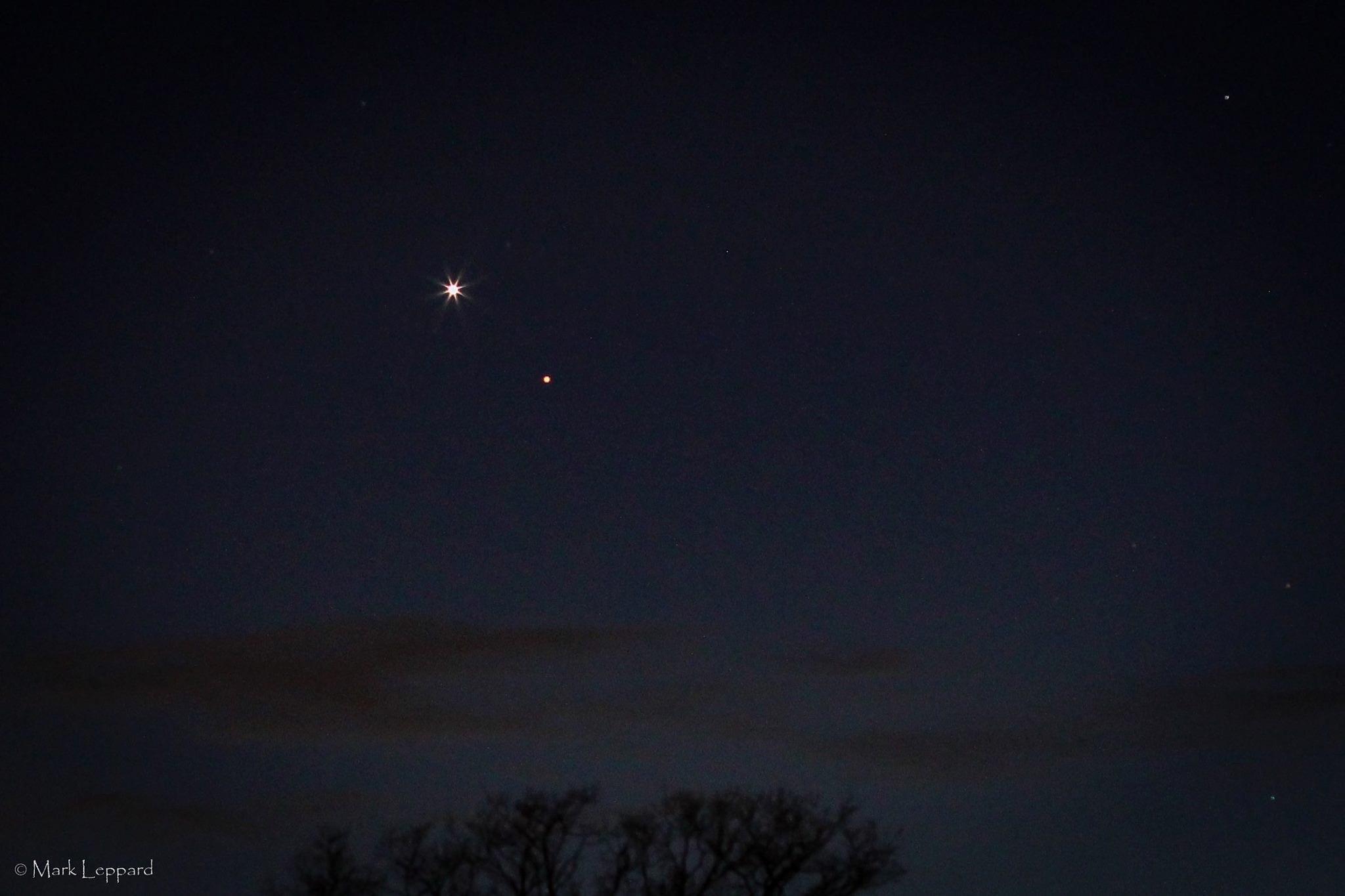 Venus and Mars at Dusk by mark.leppard