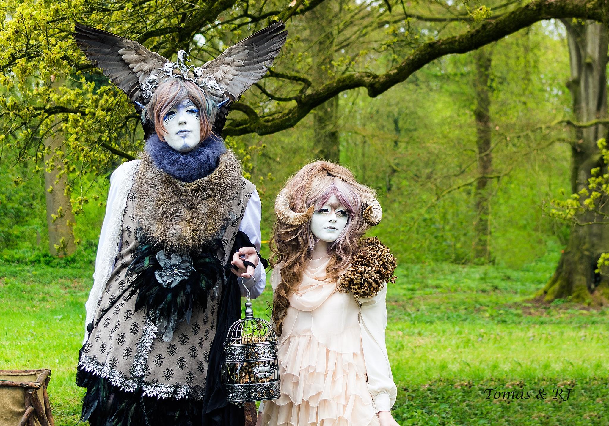 Photo in People #potrait #fantasy #pentax #k3 #tomas & rj #elfia 2015 #cosplay