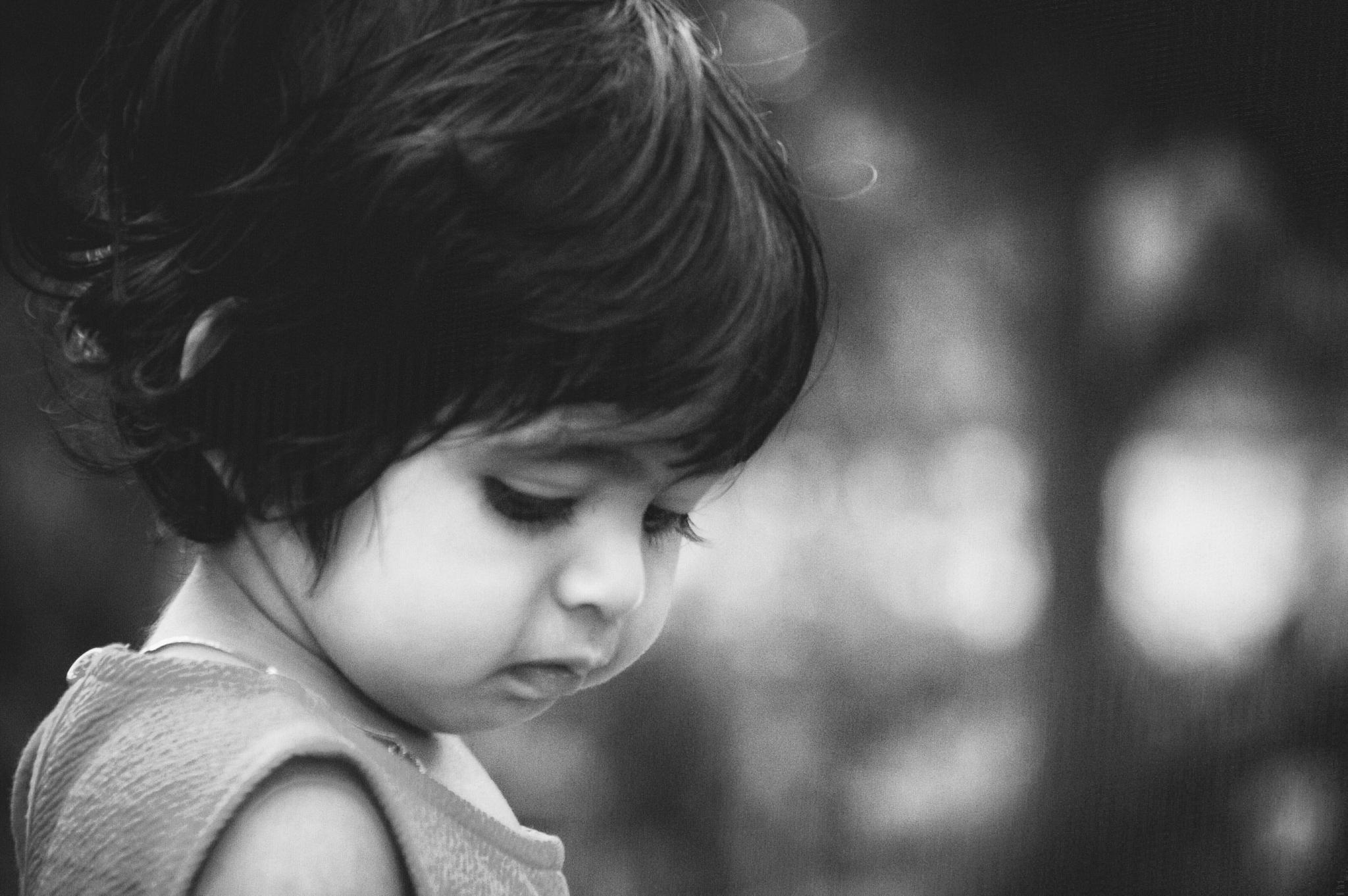 Photo in People #alone #little #girl #feel