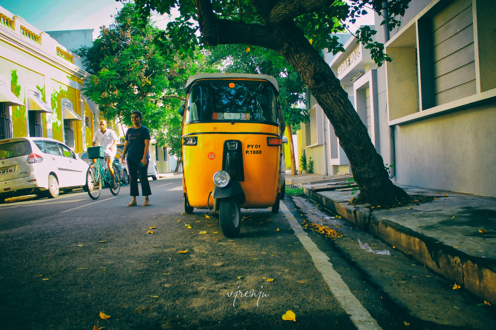 street walk by VJ Renju