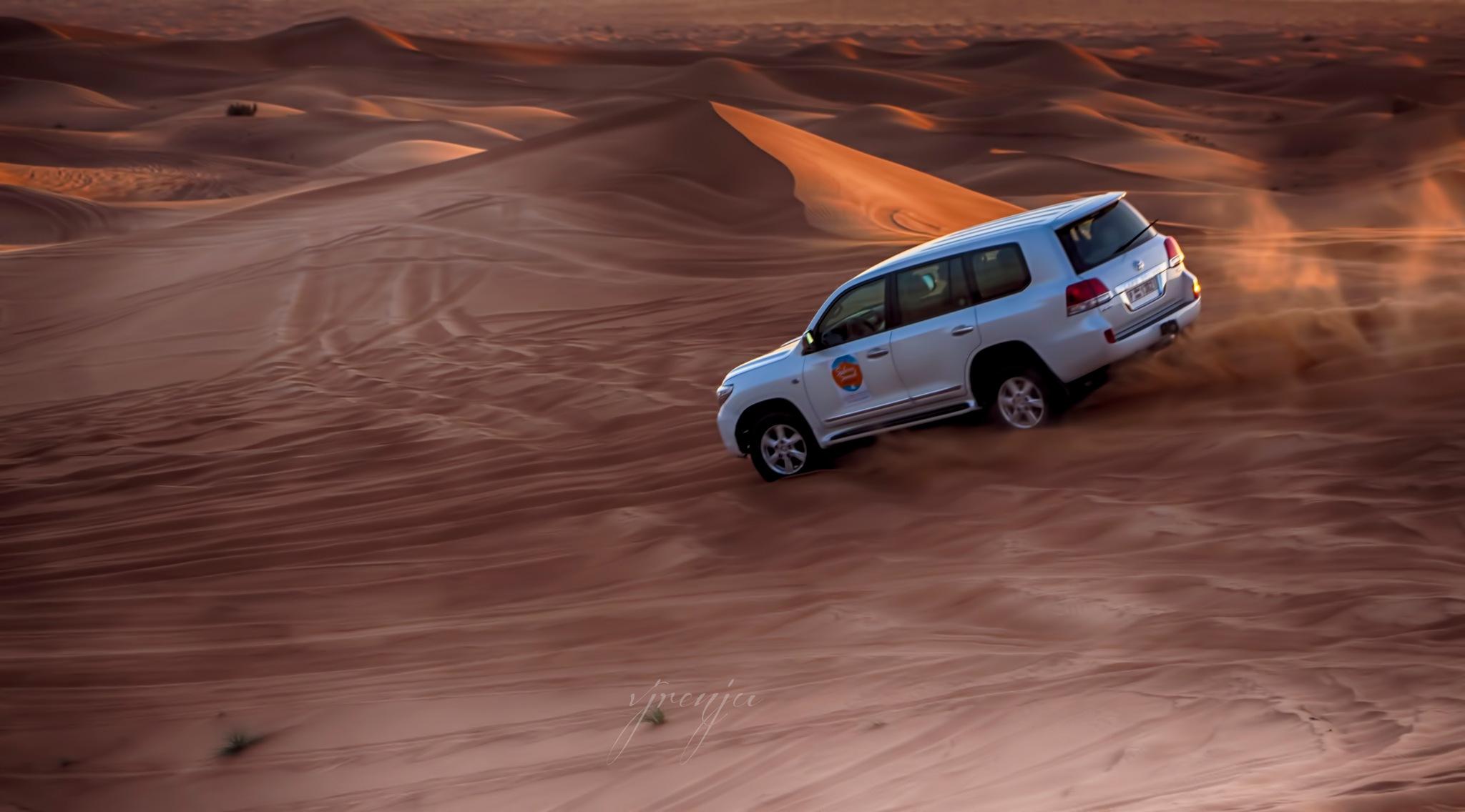 Dune bashing by VJ Renju