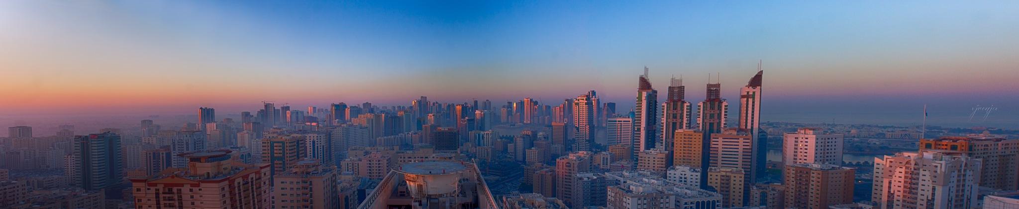 The panoramic view by VJ Renju