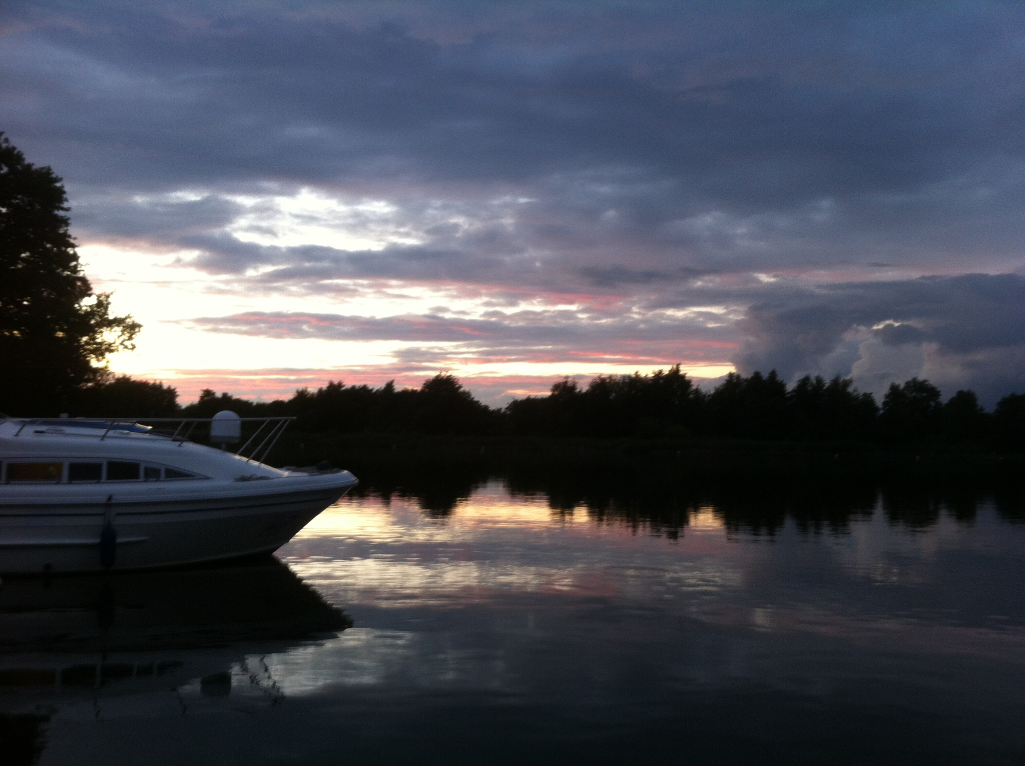 Early Morning at Salt House Broads Norfork by Bazza