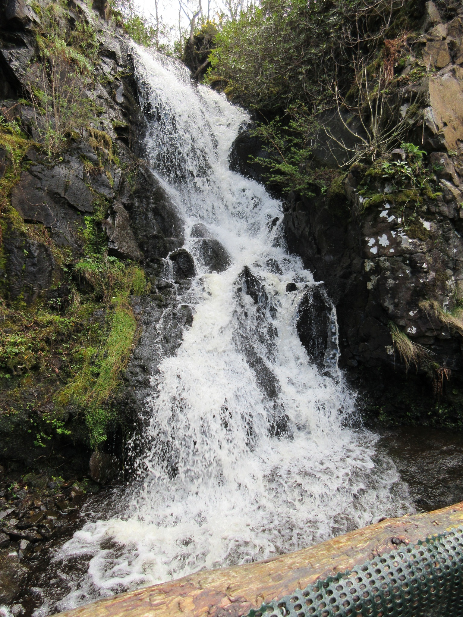 The Falls in Dunvegan Castle by Bazza