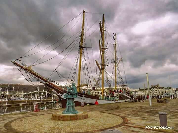 Ship in the harbour by David.s.fox.9