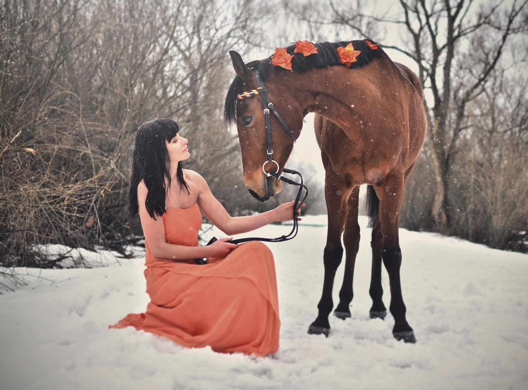 journée en orange by Anna P