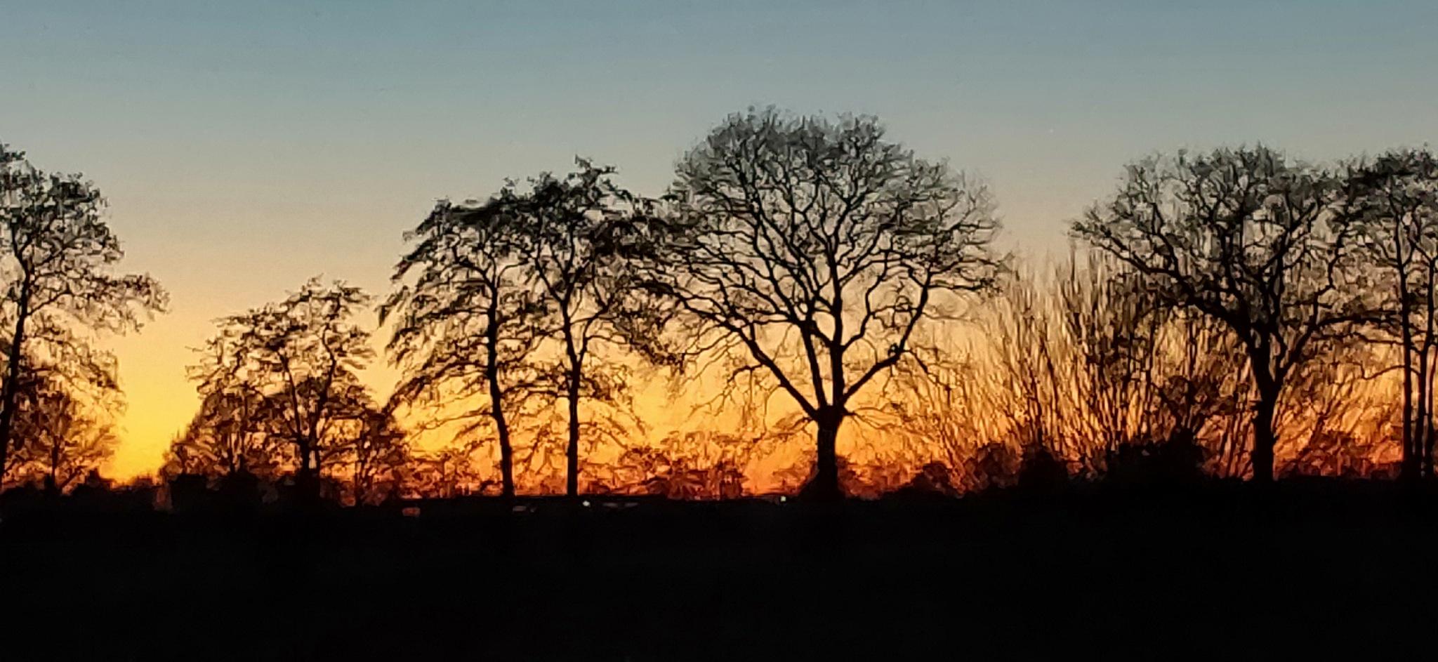 zonsondergang by gerda