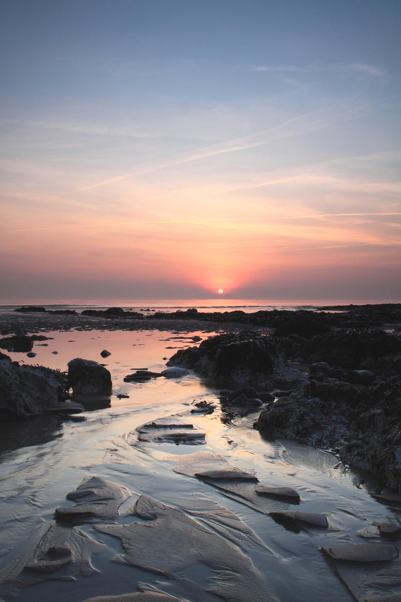Birling Gap Sunset by Craig Williams Photography