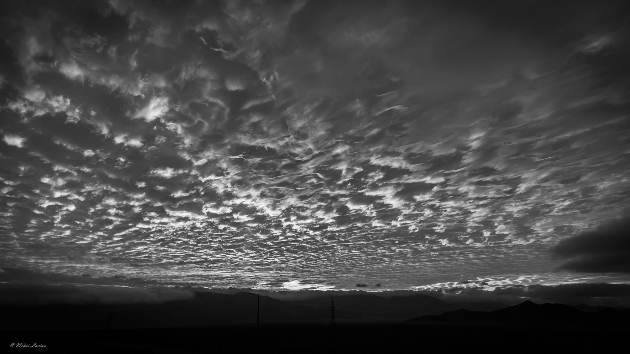 # unbelievable sunset  by Mihai Lucian