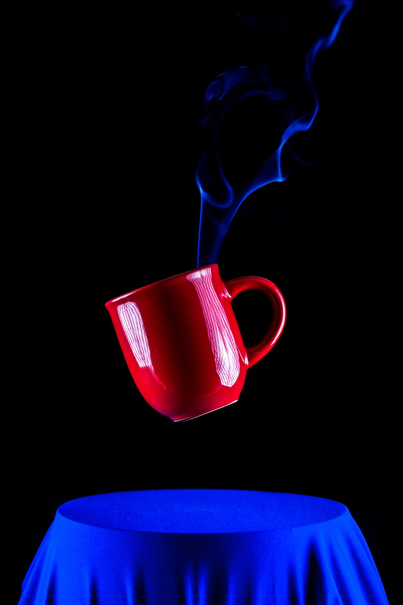 Hot Coffee Drop by Olie's Images