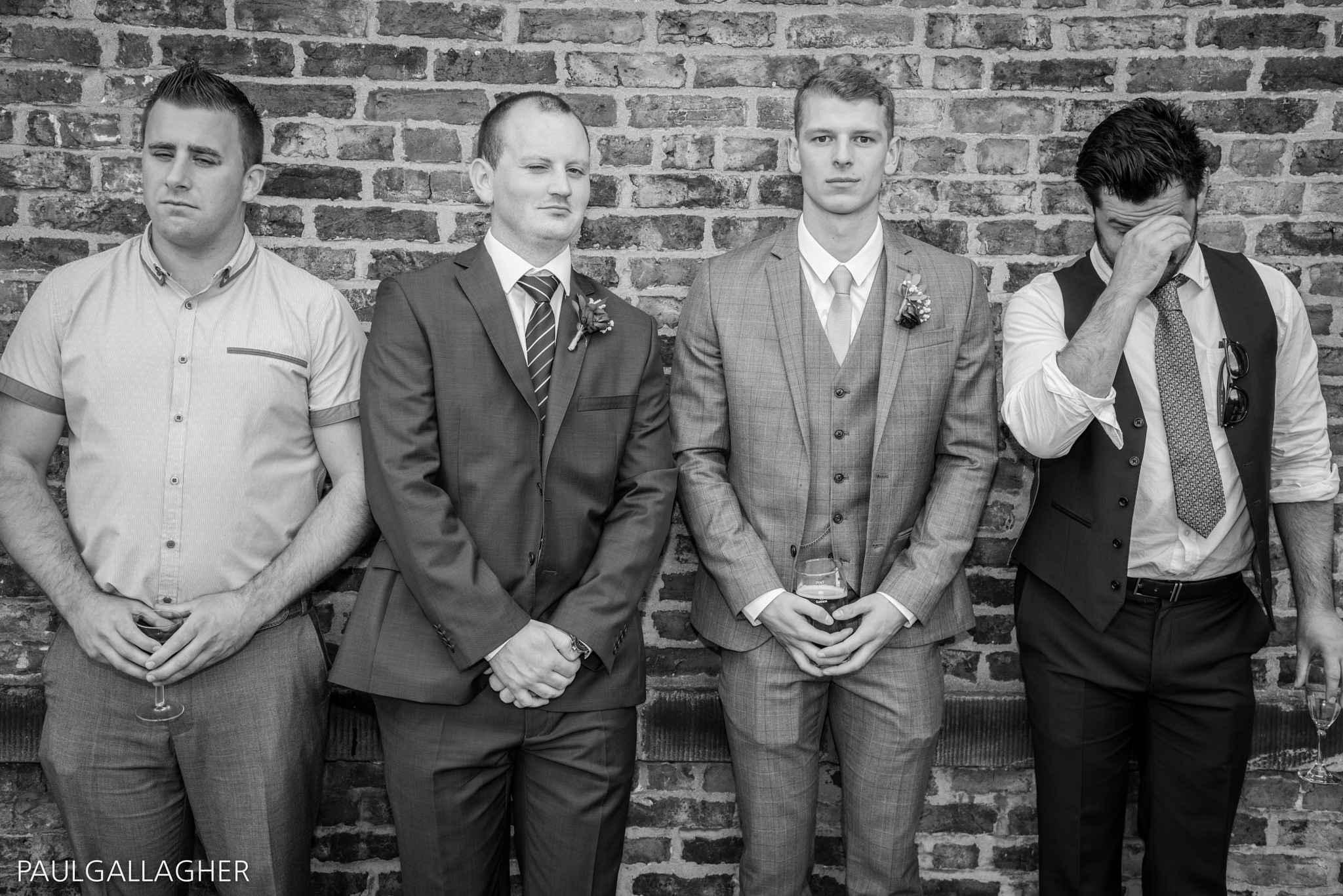 The usual wedding suspects by Glam Portraits by Paul Gallagher