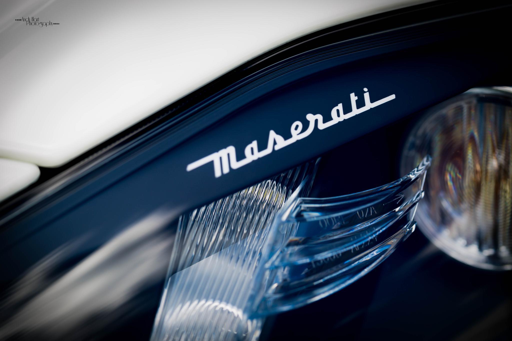 Maserati by Andi Hart