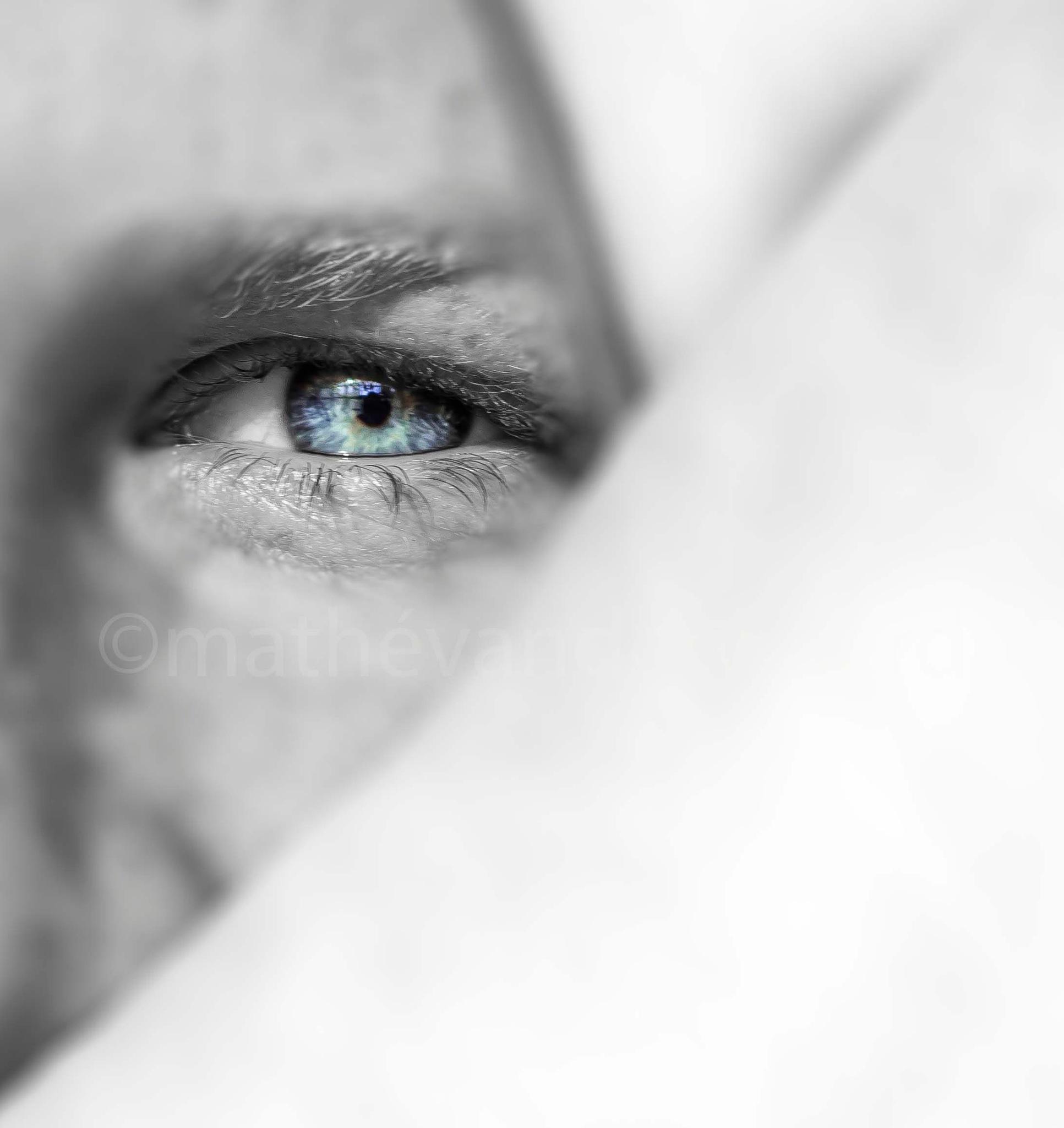 Black eye by mathé van der woerd