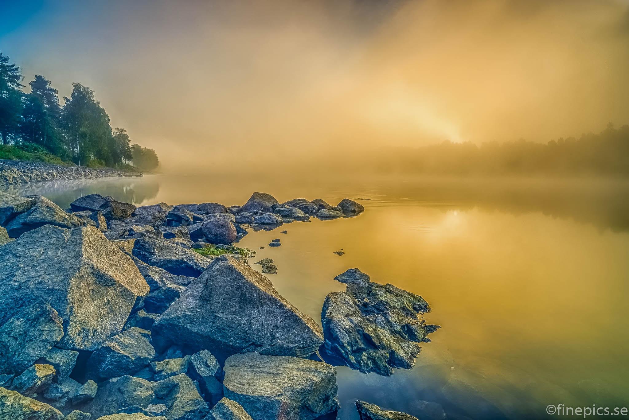 A sunrise in Vännäs, Sweden by Johan Bergenstråhle