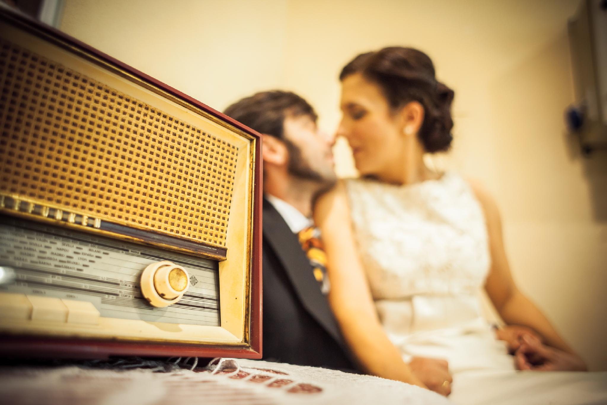 Radio Wedding by pitigarcia