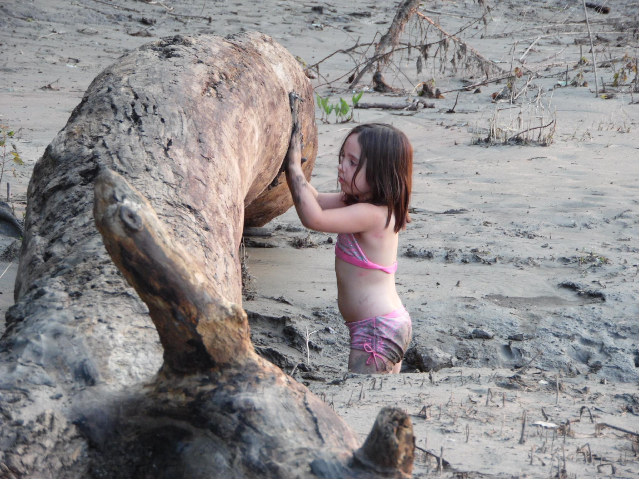Playing In mud by rosezella.johnson.3