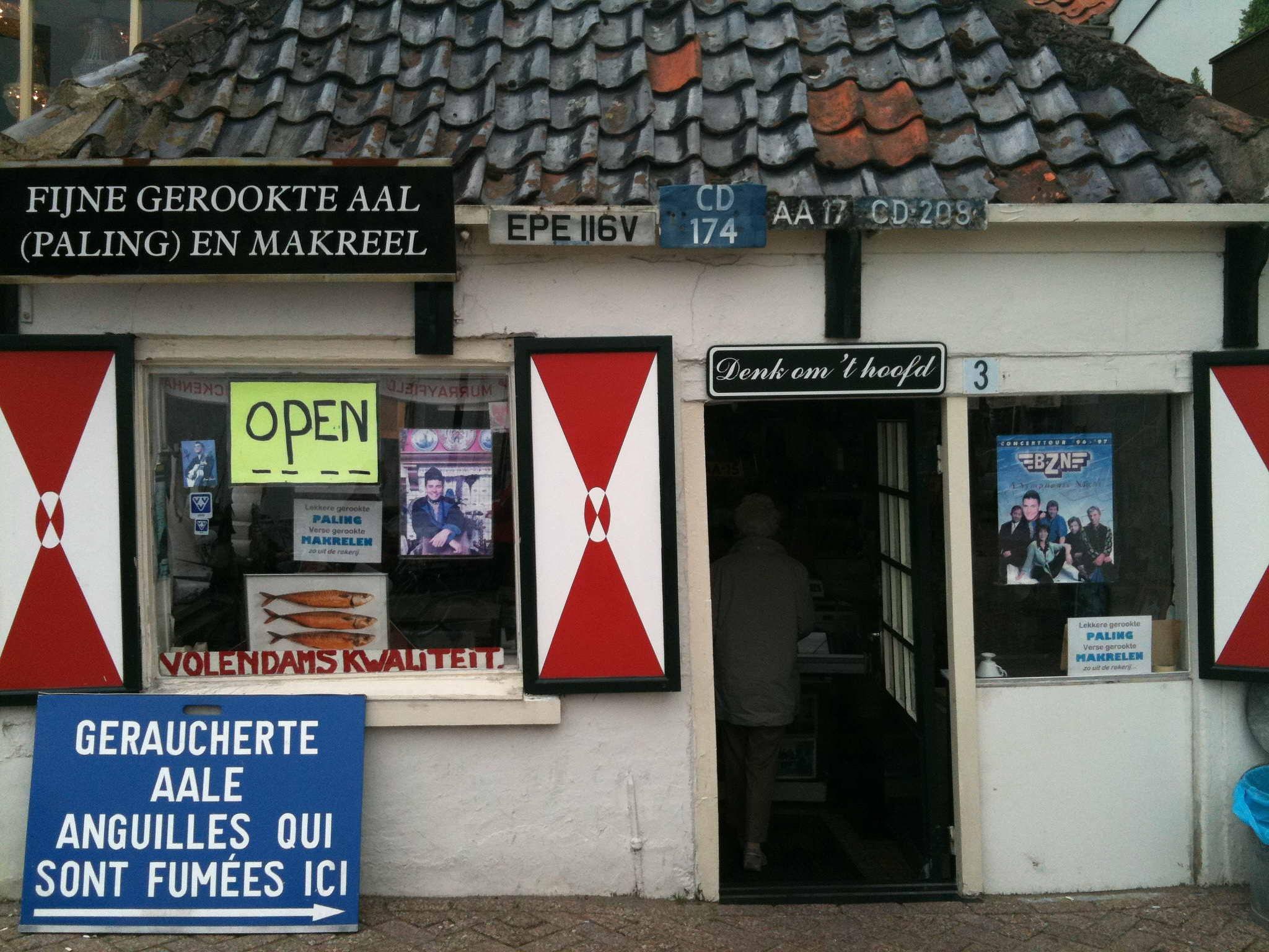 Famous Fish in Volendam by vakantieidee.info