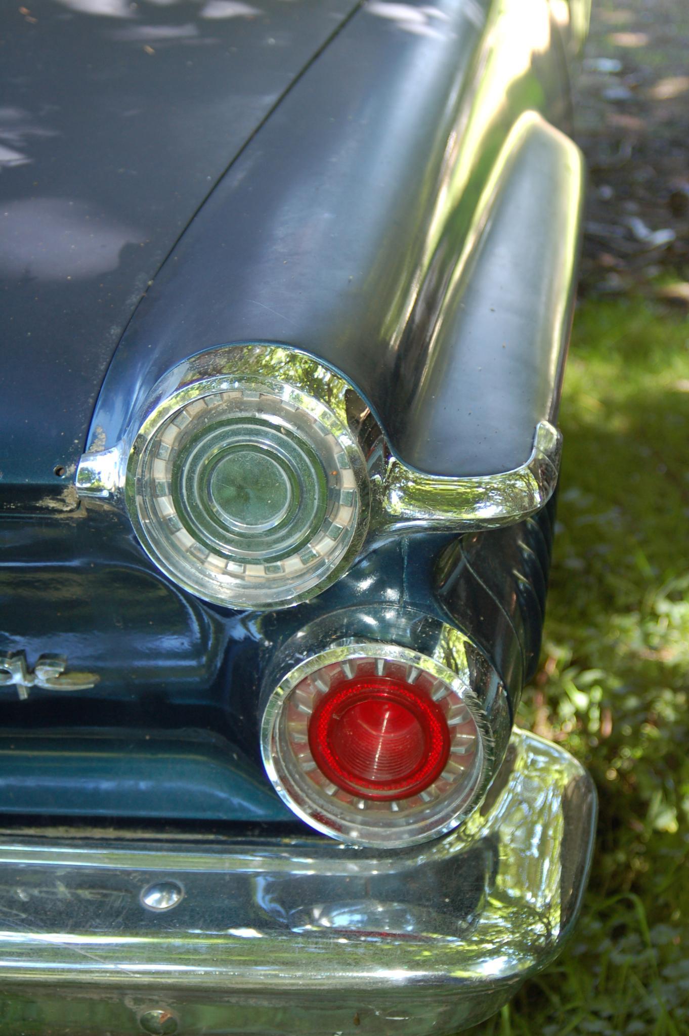 Rear light Dodge oldie by Sophia von Wrangell
