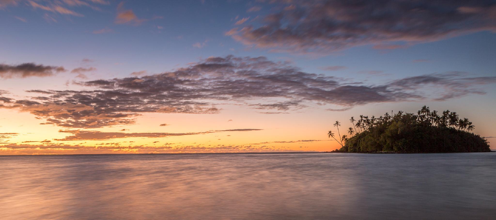 From Muri Beach at sunrise. by sdixon2380