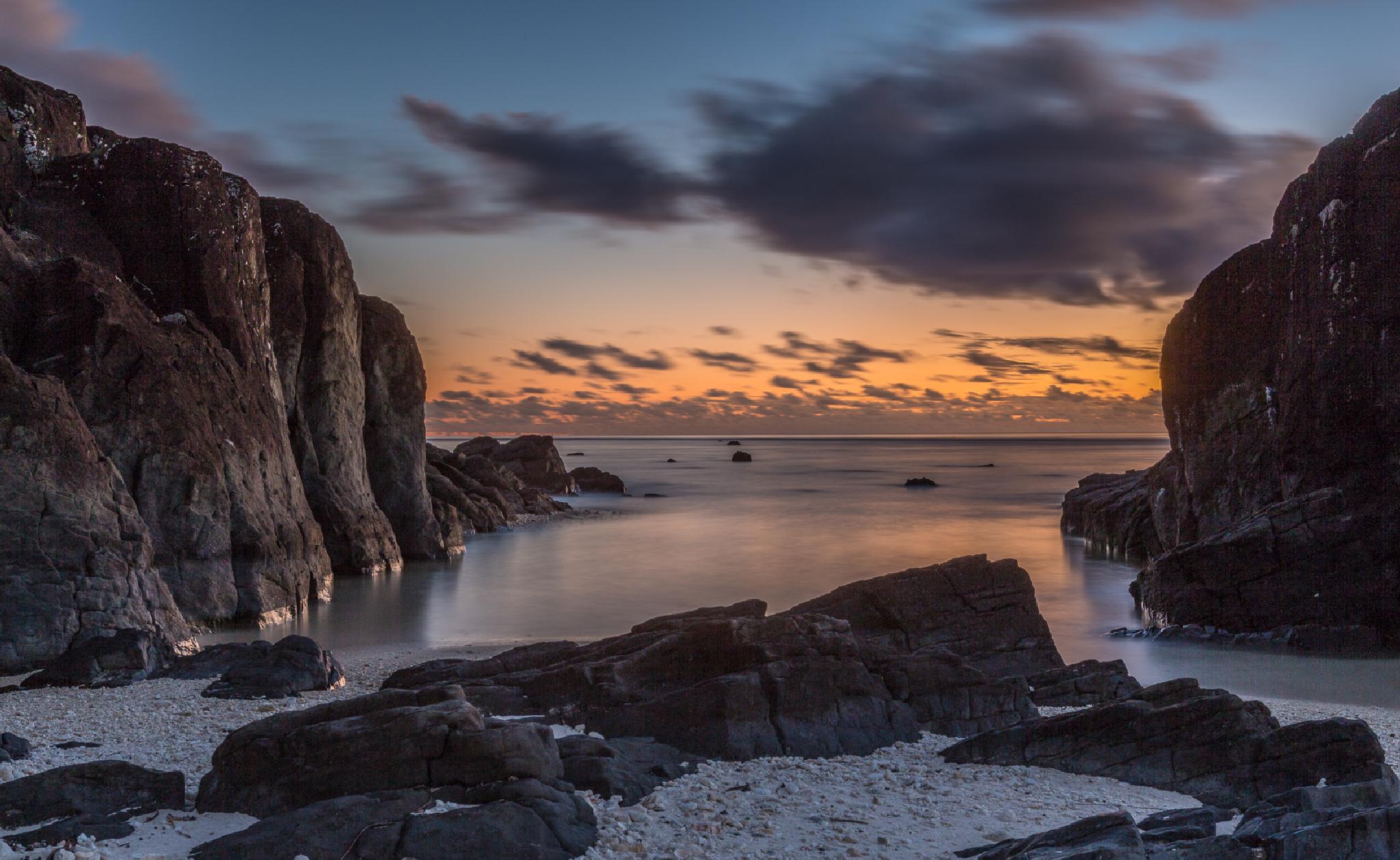 Sunset at Black Rock by sdixon2380