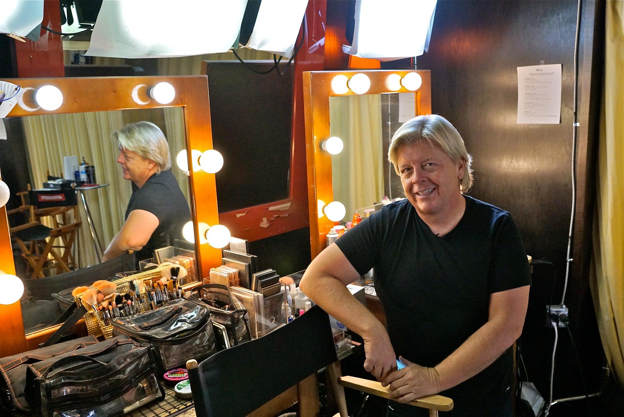 waiting on hair & make-up by Debi Staron