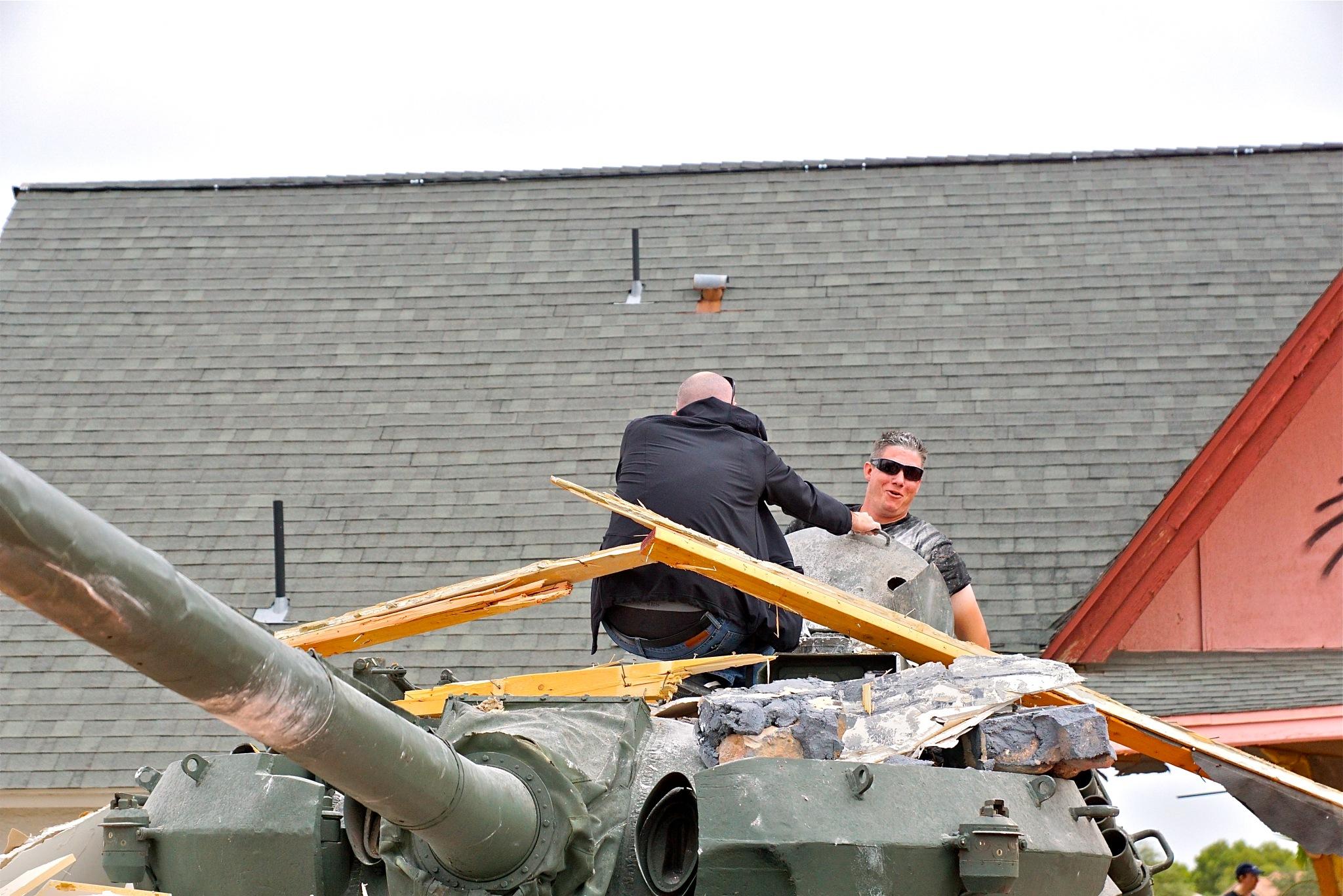 tank:  extrication by Debi Staron