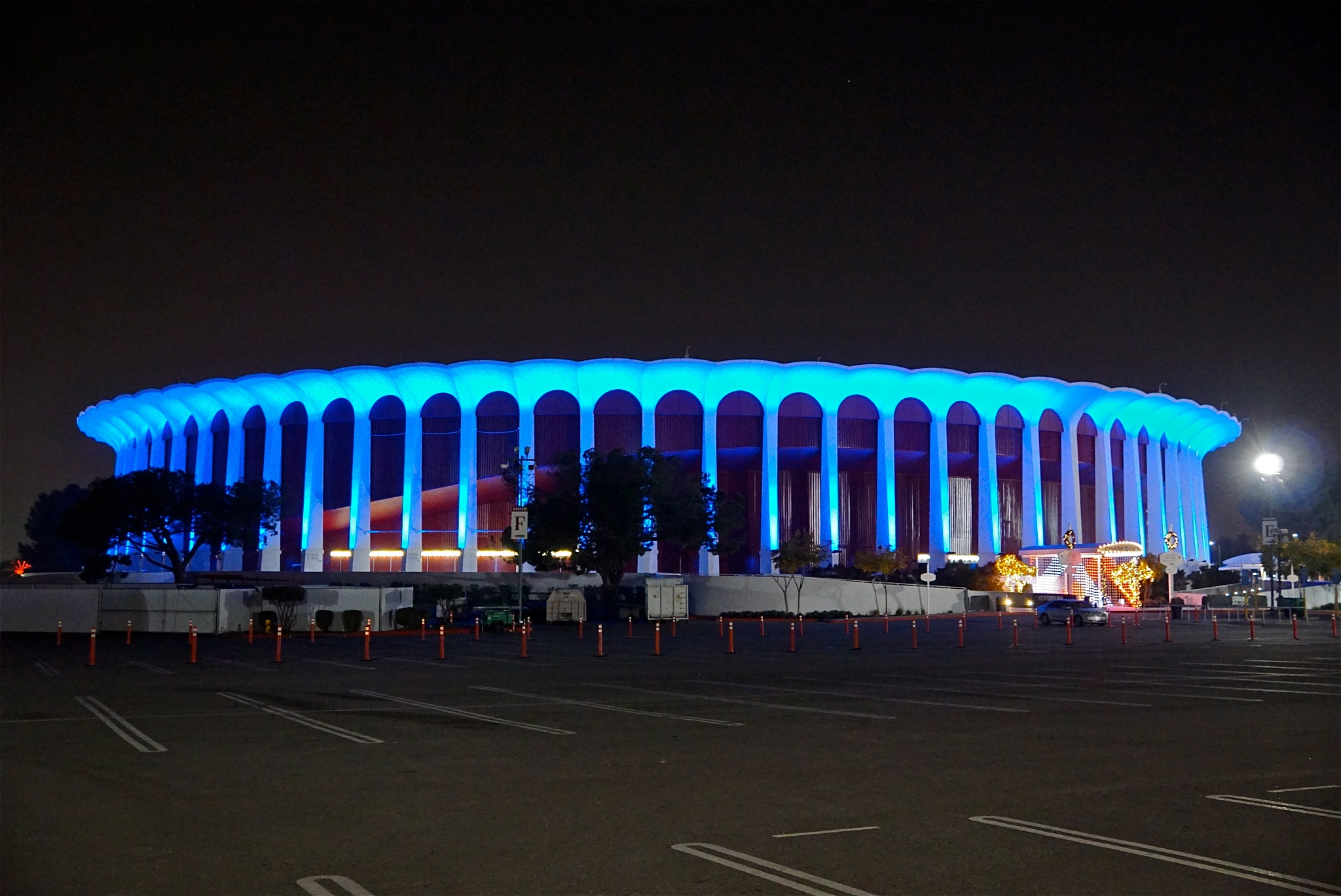 Forum, in blue by Debi Staron
