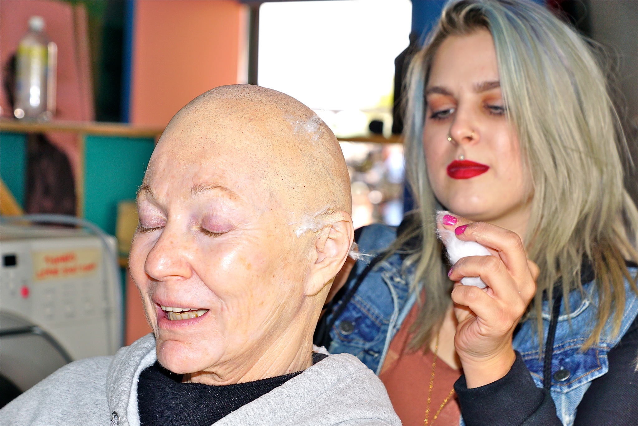 aging an actress, fx by Debi Staron