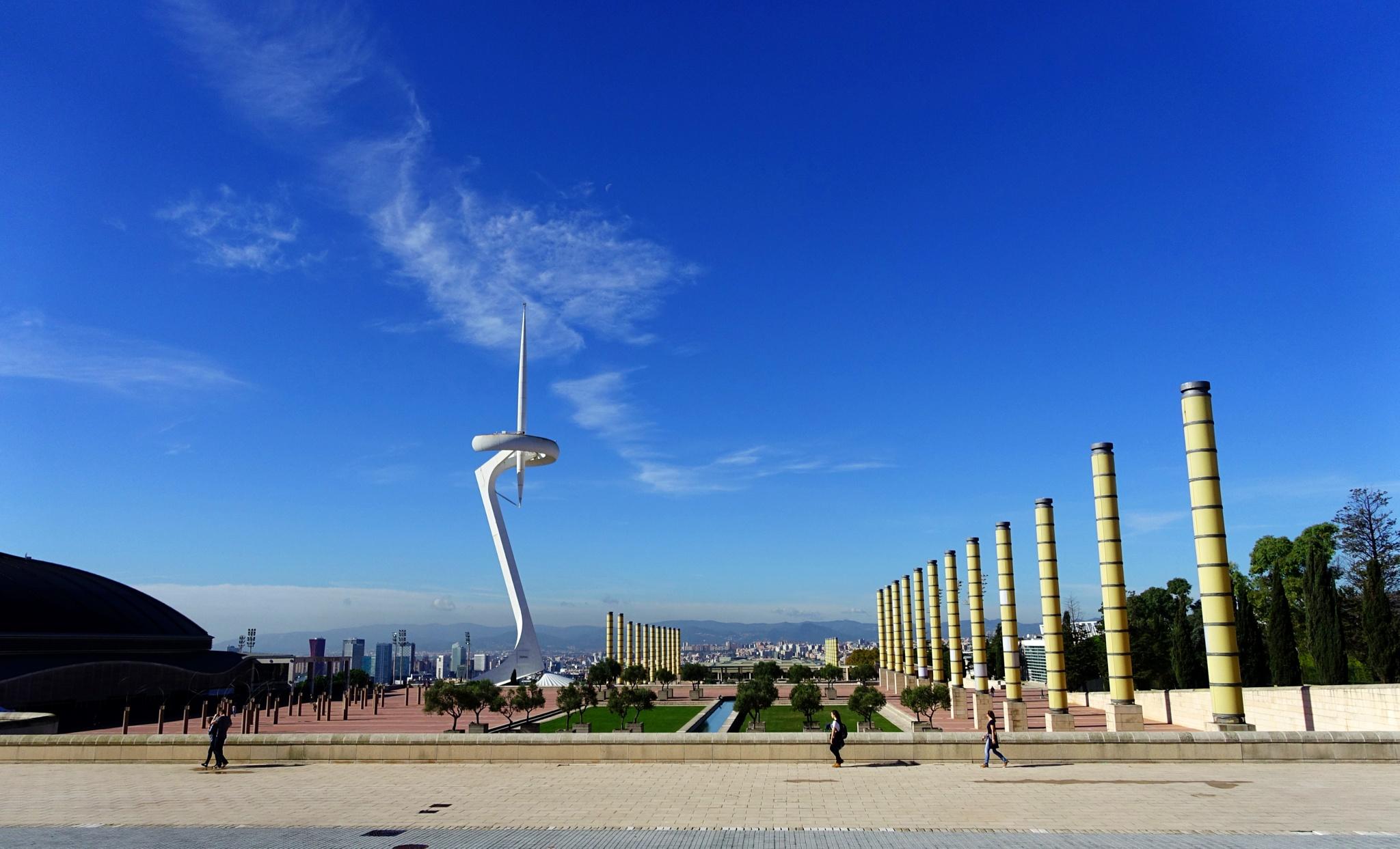 Montjuic, Barcelona by ccchan