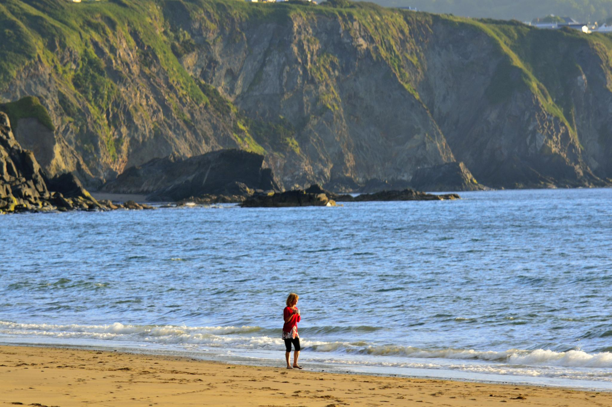 Penbryn Beach by dannie843evans