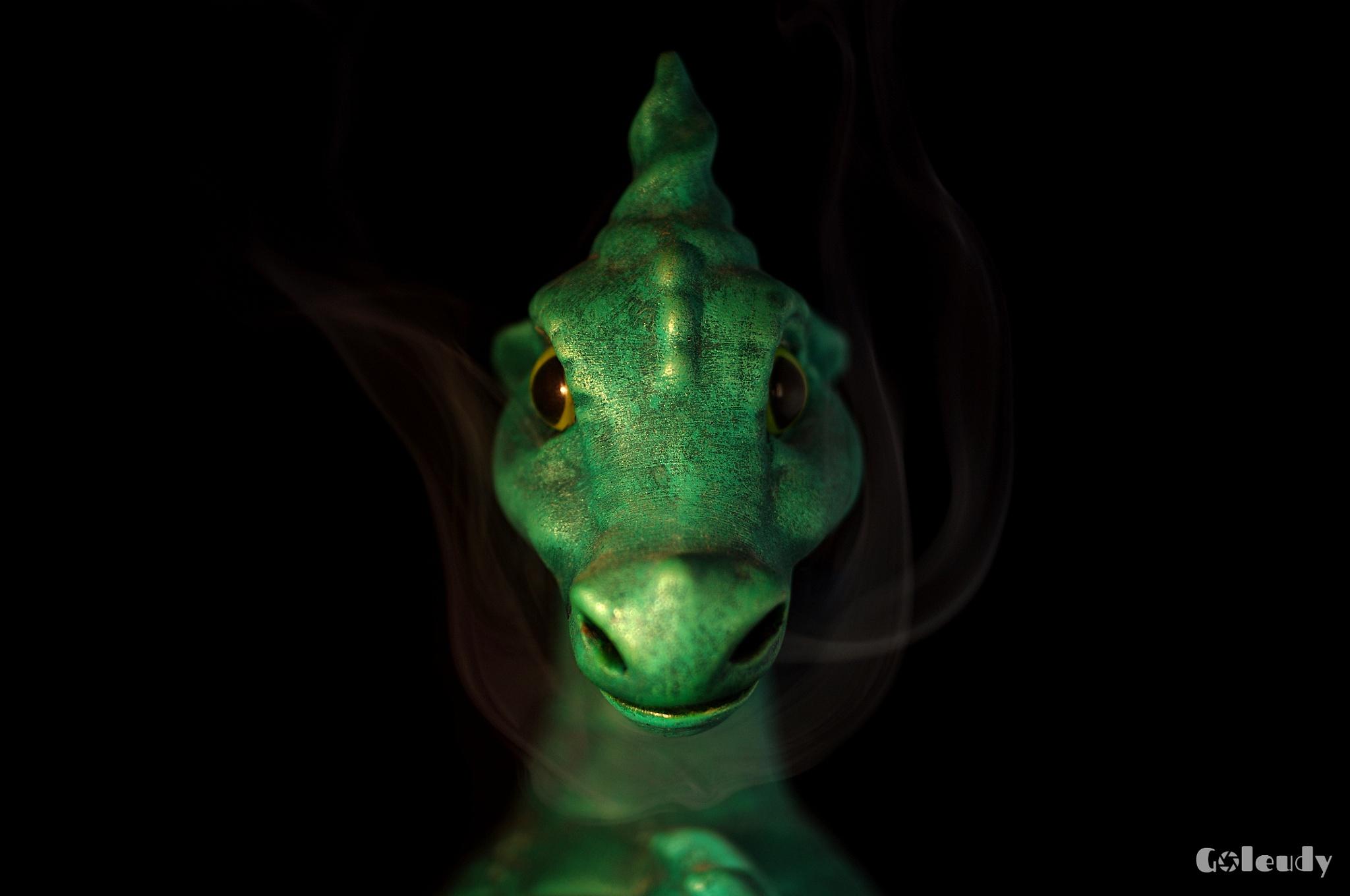 The Smoking Dragon by Goleudy
